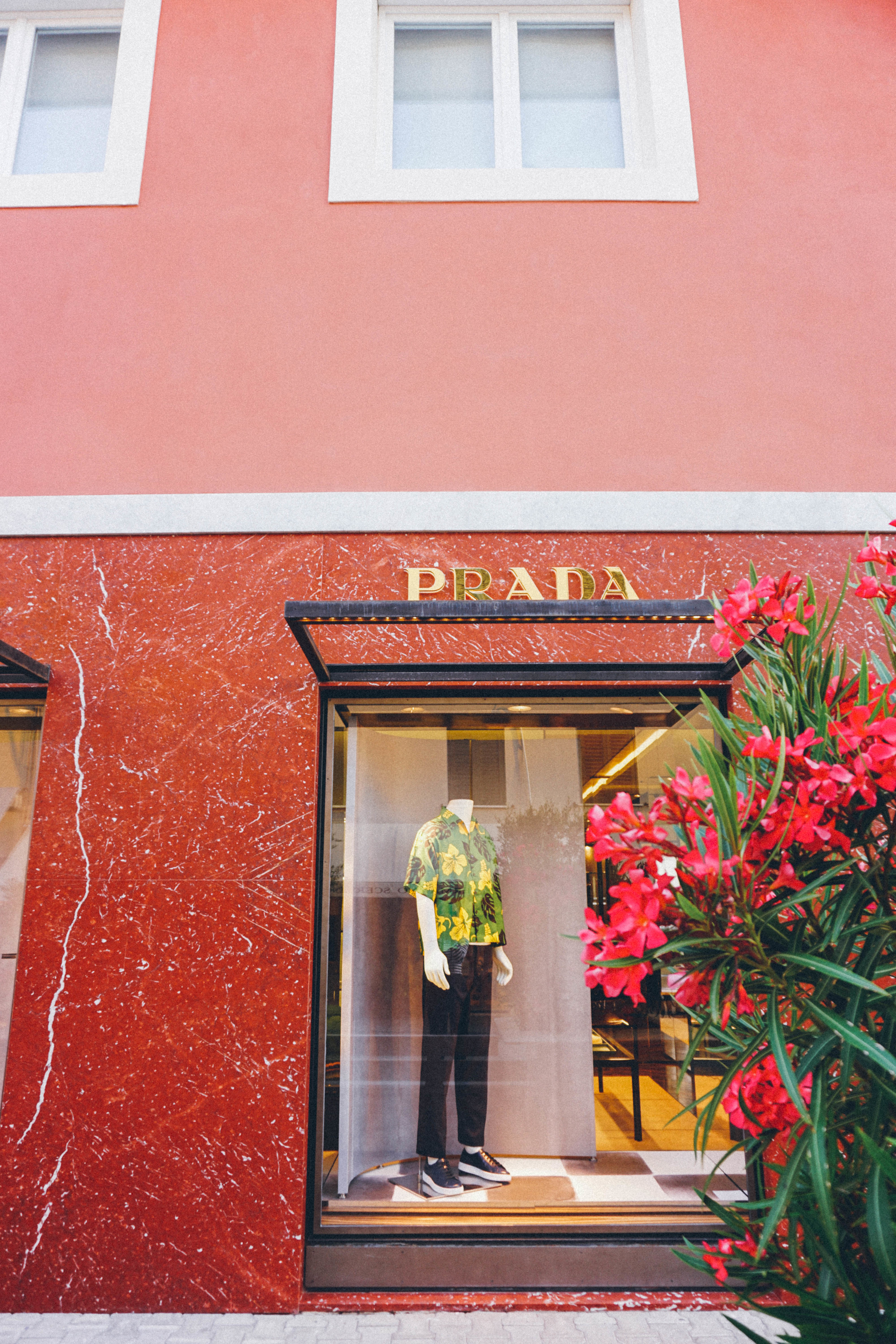 Forte dei Marmi, Italy. Prada store.