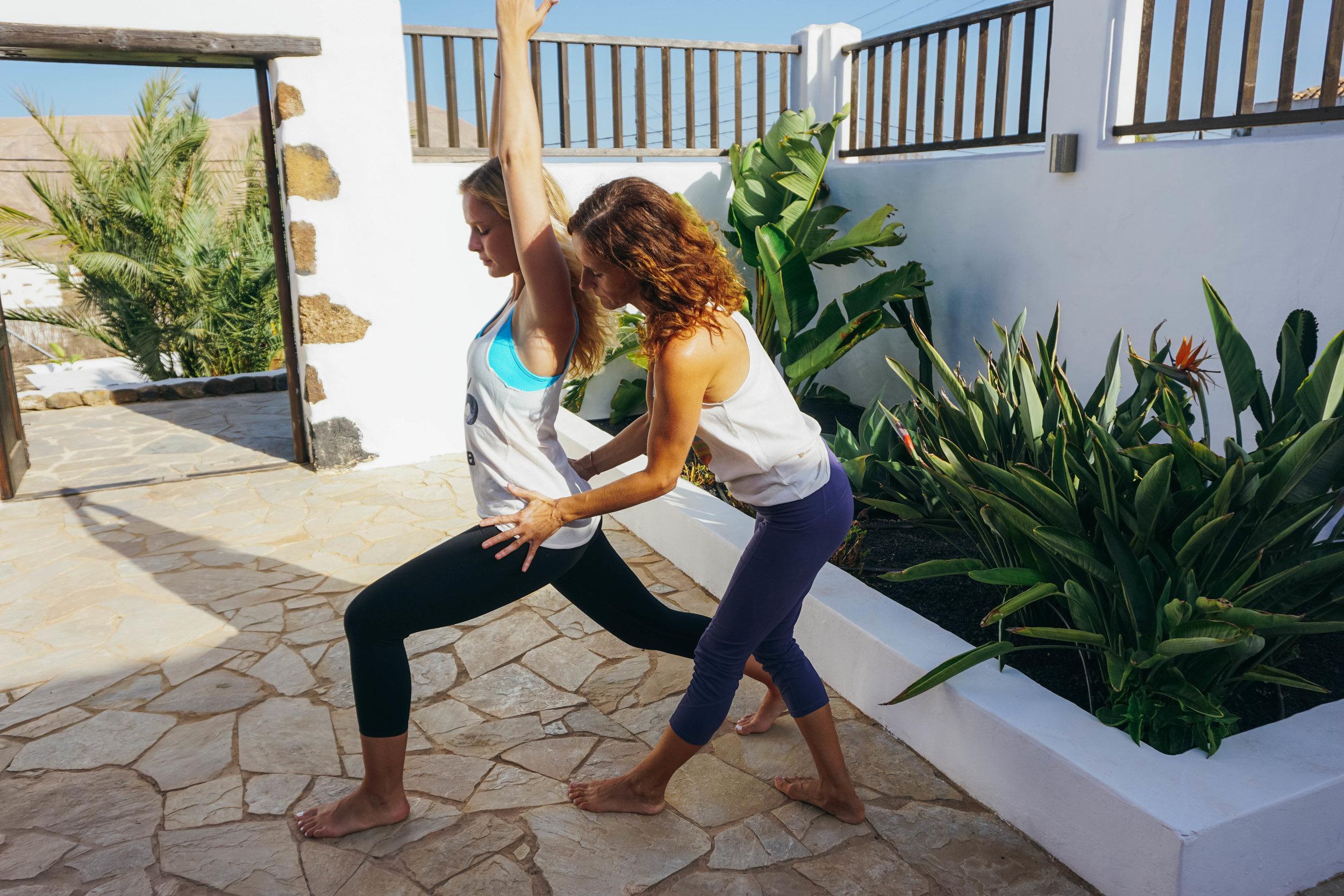 AzulFit Yoga and Pilates, Surya Retreat in Fuerteventura.