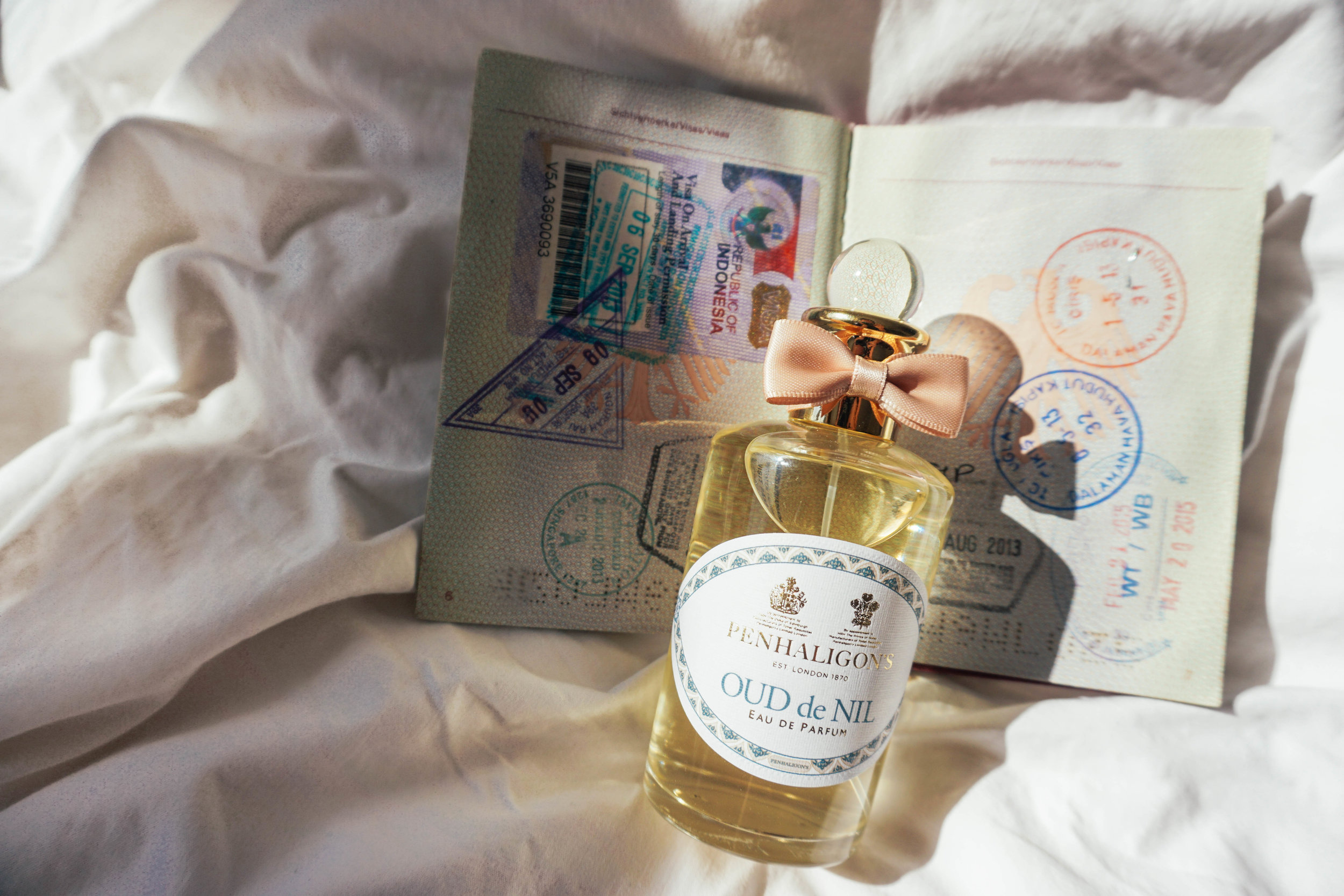 Penhaligons, New Trade Route Collection. Oud de Nil and Alizarin.