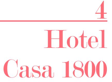 Hotel Casa 1800 Kat Caprice
