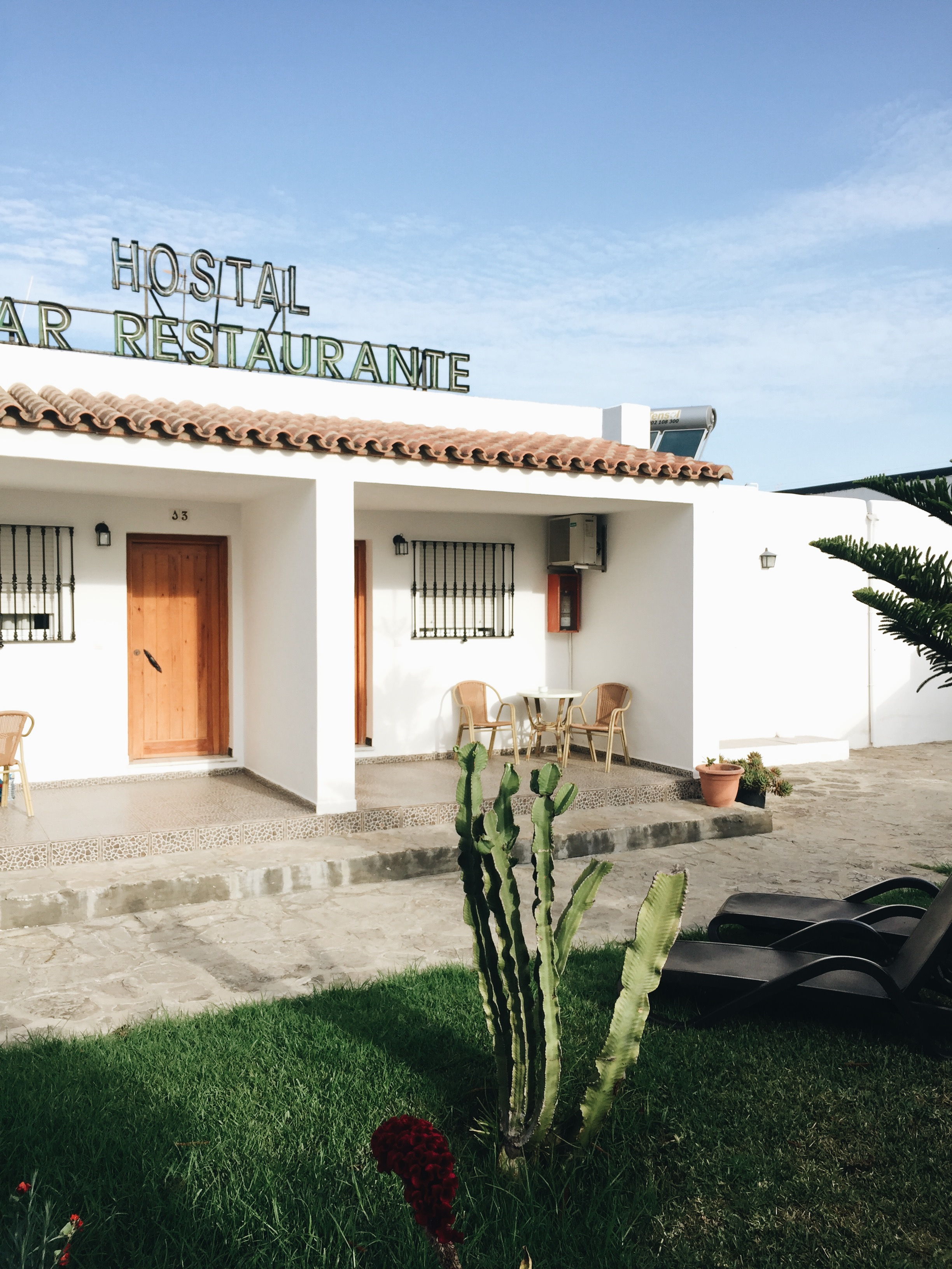 Where to sleep and eat in Tarifa, Spain.