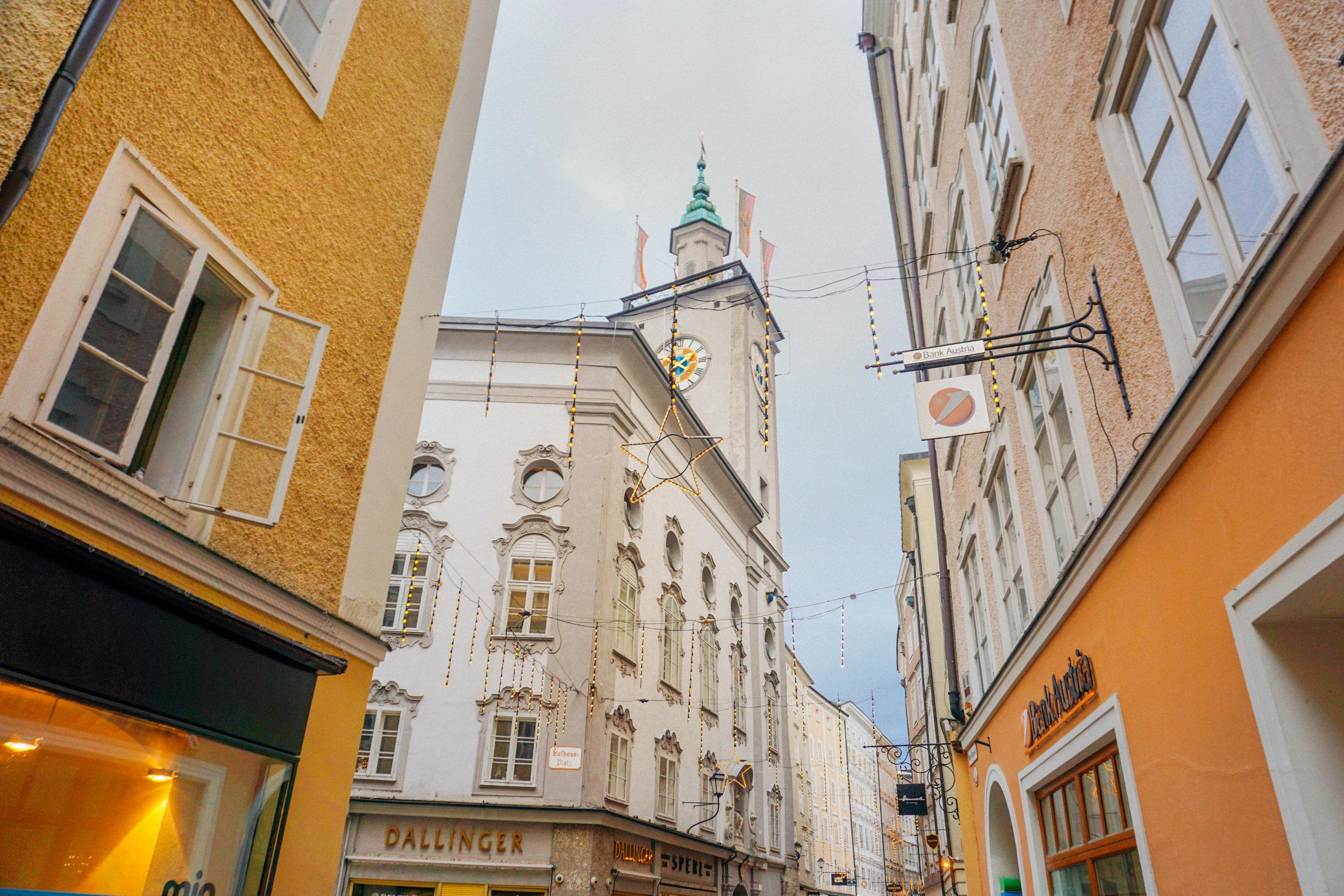Mozart House in Salzburg Austria