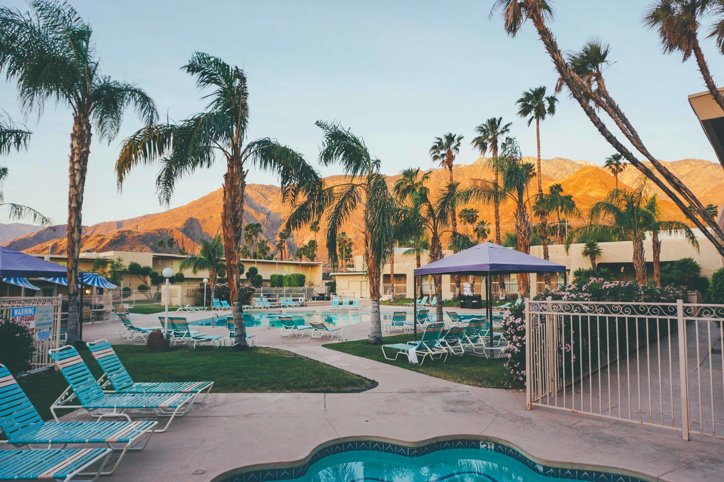 Days Inn Motel Palm Springs, Accommodation Coachella Festival