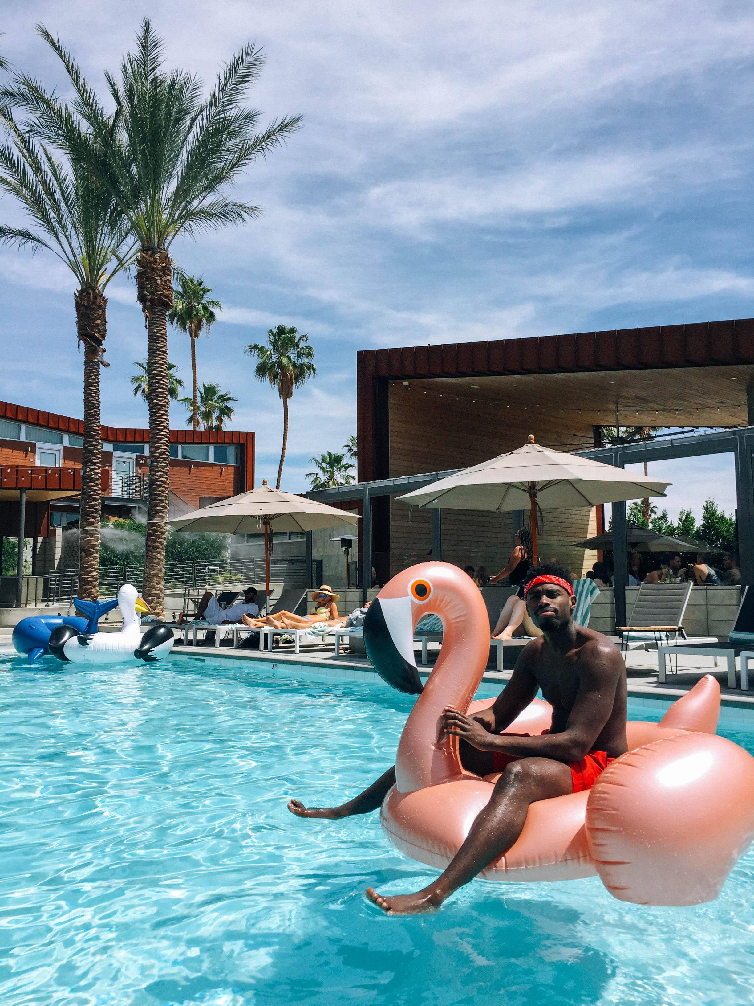 Coachella Festival Pool Parties