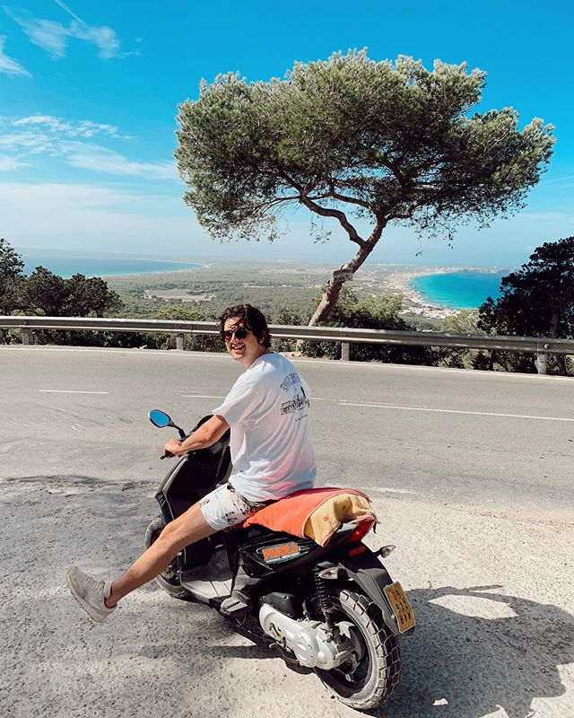 Best views in Formentera with my 💙 - El Mirador 🏍