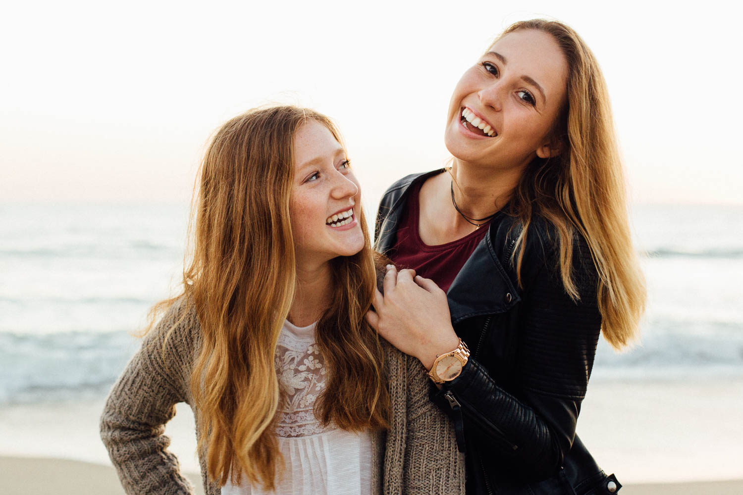 I encourage my senior session clients to bring a friend and I always try to get at least one photo of the two together, then I include it in their gallery as a complimentary gift. This is Sarah with her friend Averee.