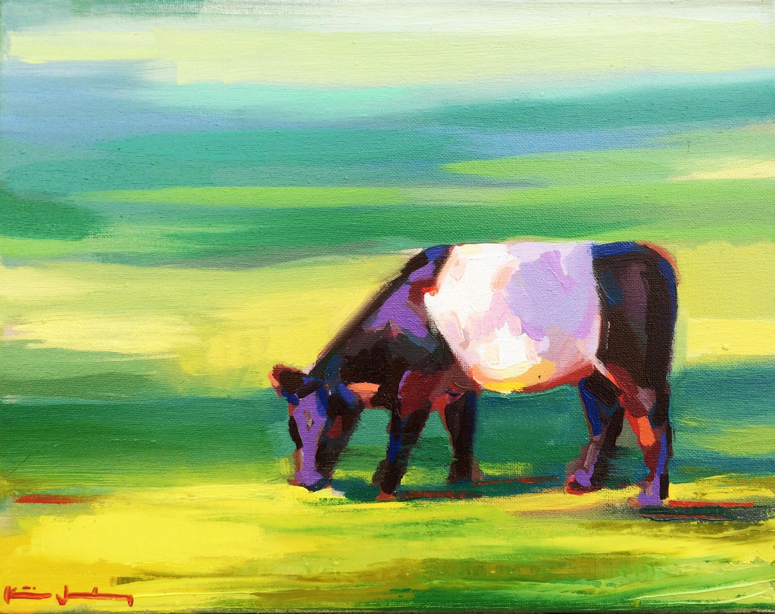 2015- River Road Cow (Solo Oil Sketch) .jpg