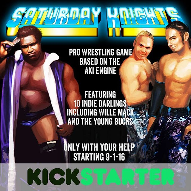 Hey guys, I'm launching a kickstarter soon, if you loved No Mercy on the N64 then you're gonna love this! Please visit @saturdayknightswrestling for more info :)