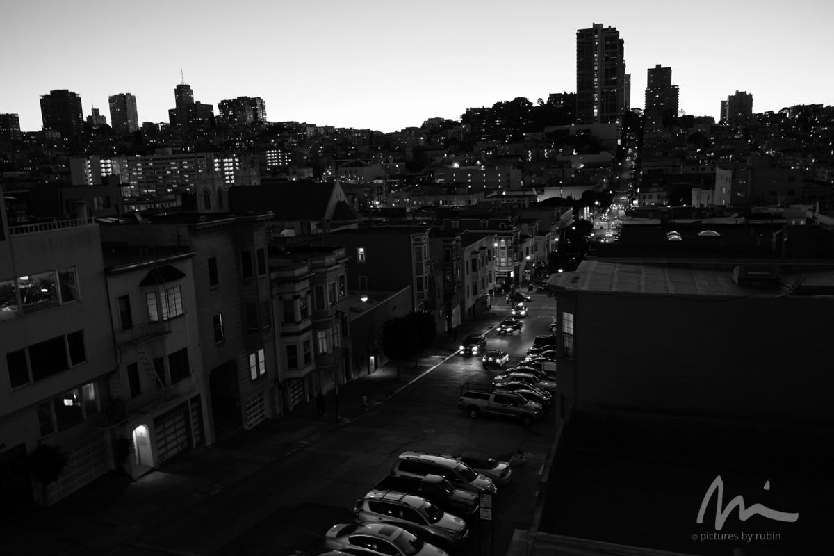 Sunset, Green Street, 2015