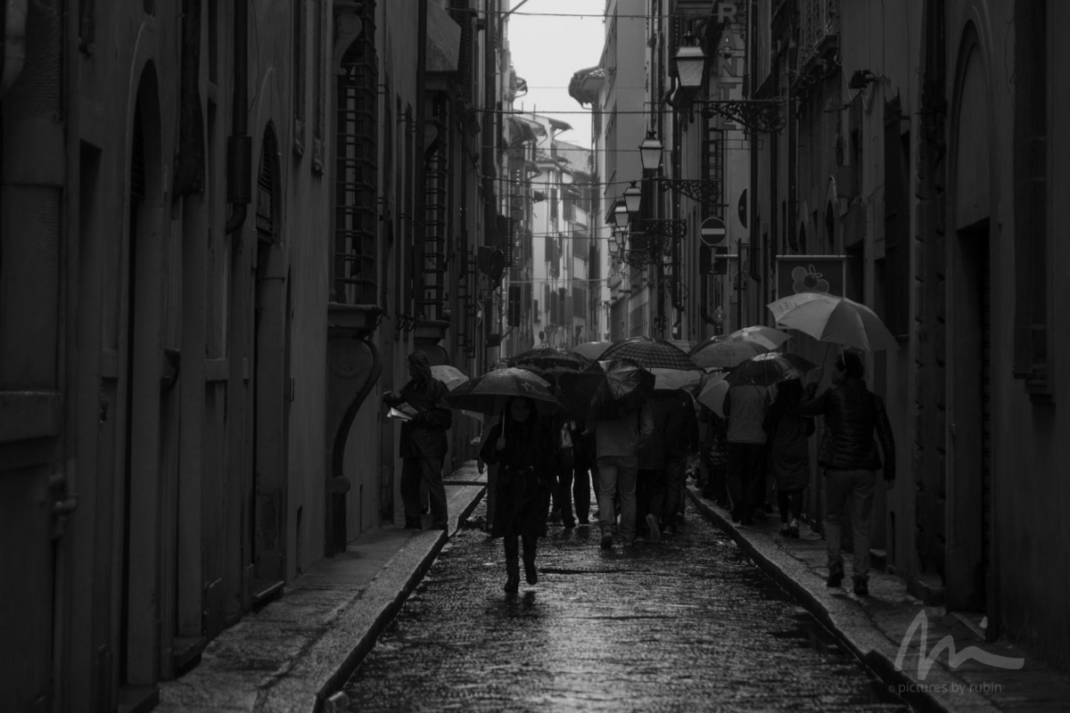 Raining, Florence
