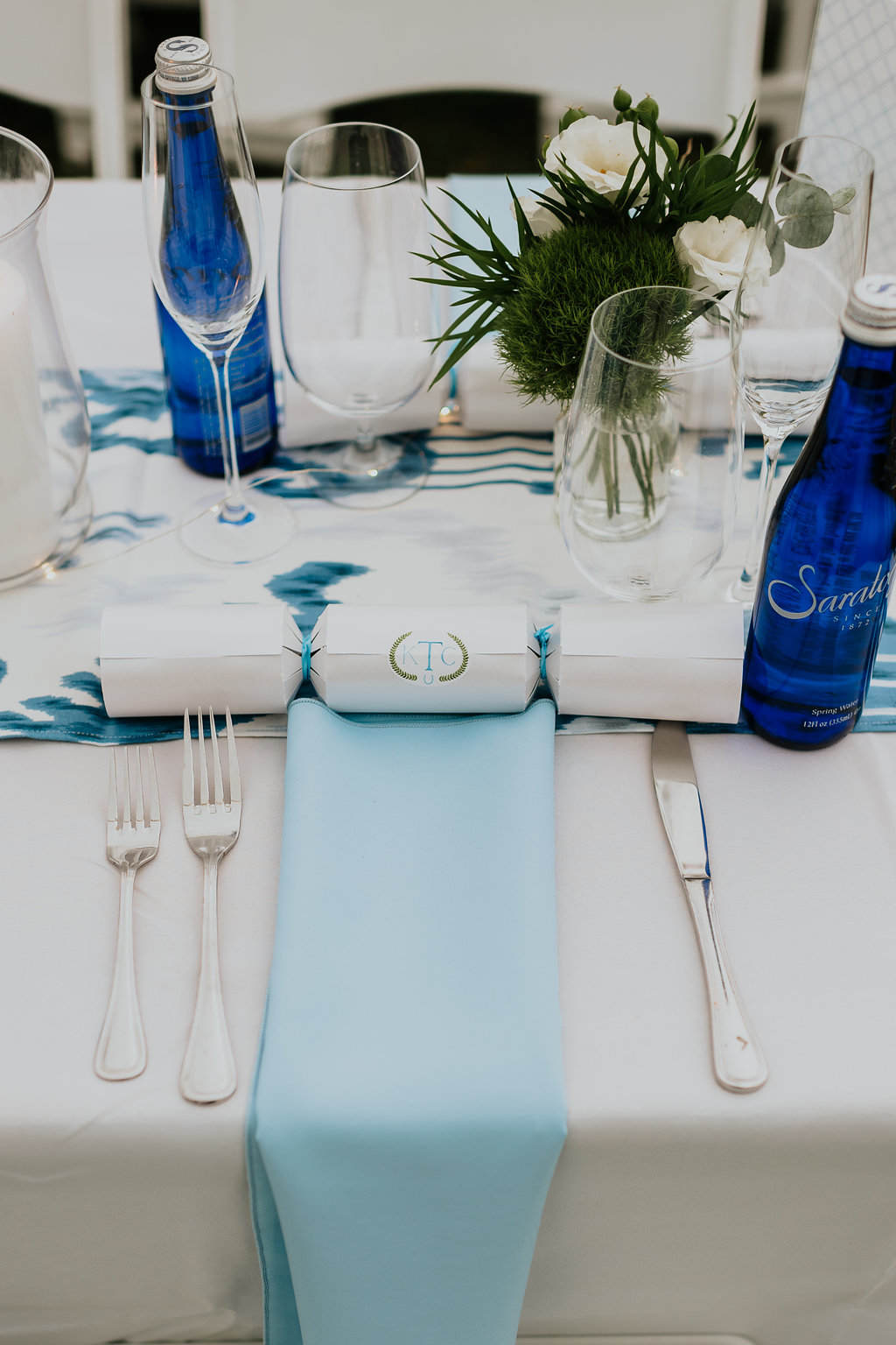 22 Blue Wedding Tablescape Fairfield Connecticut.jpg