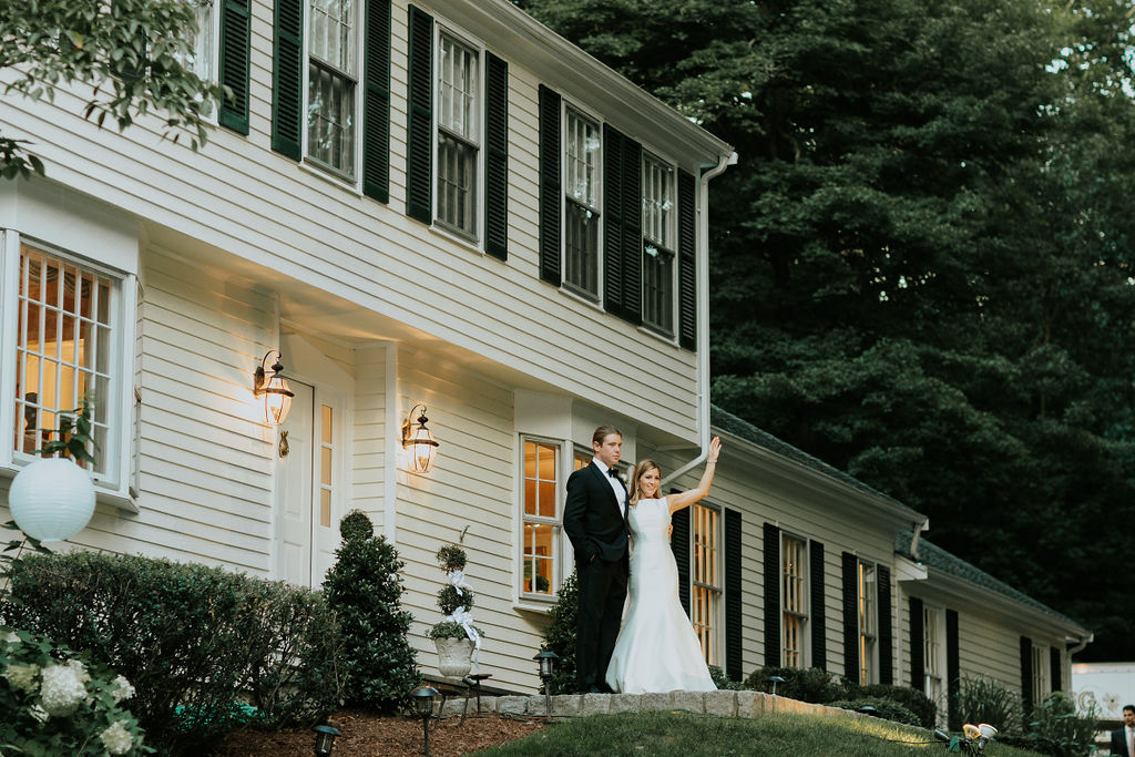 23 Bride and groom backyard wedding Fairfield Connecticut.jpg