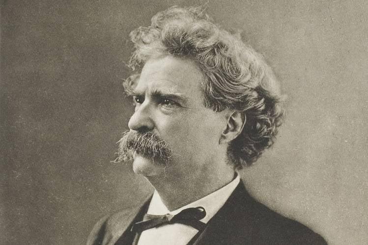 Mark Twain, circa 1890
