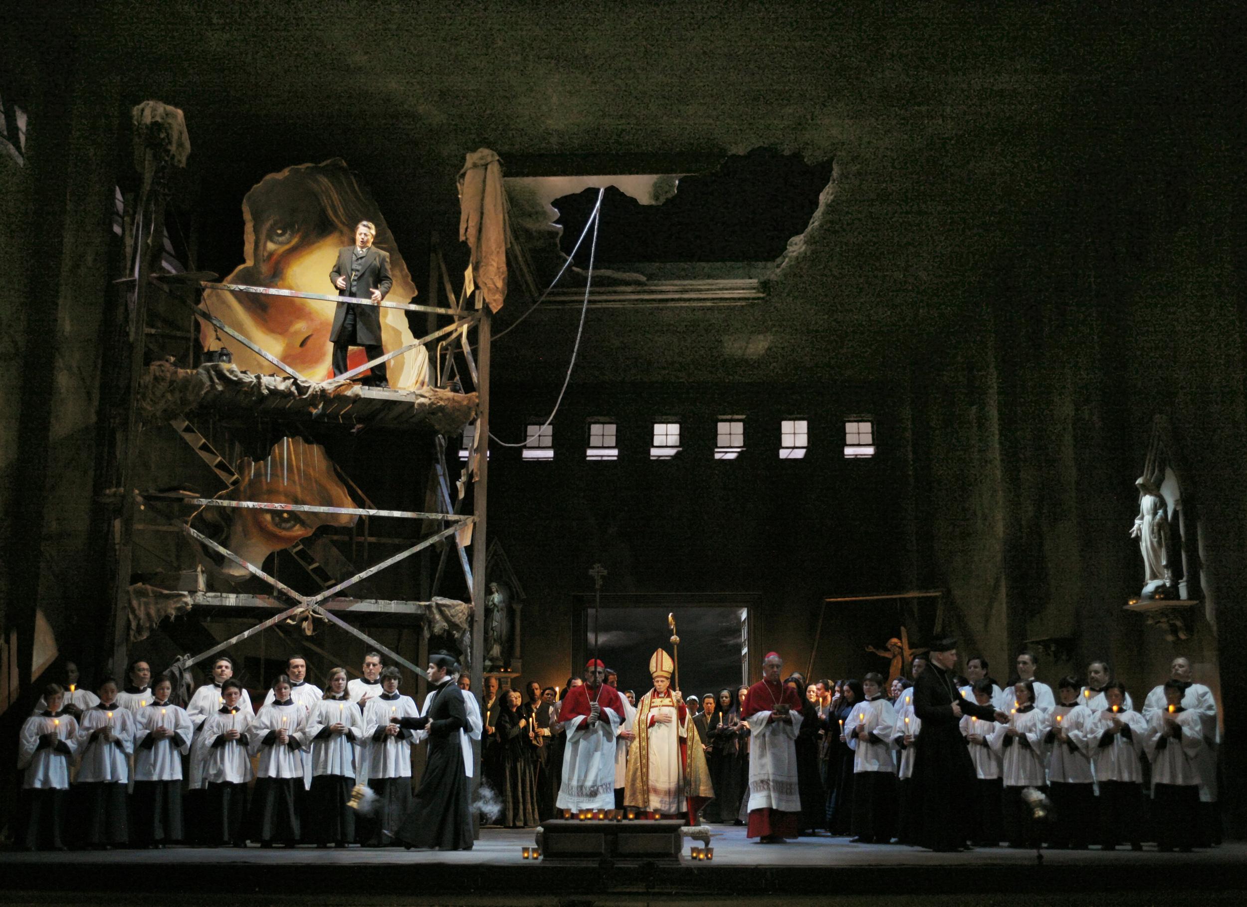 Tosca , L.A.Opera 2013