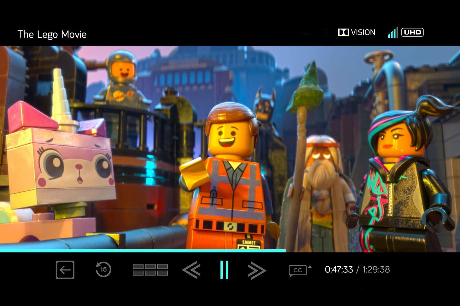 THE LEGO MOVIE (2014) IN ULTRA HD