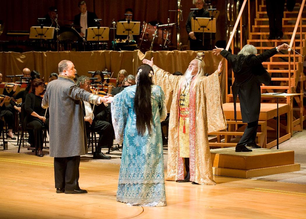 Turandot, Act III, Love triumphs (Photo: Nick Koon)