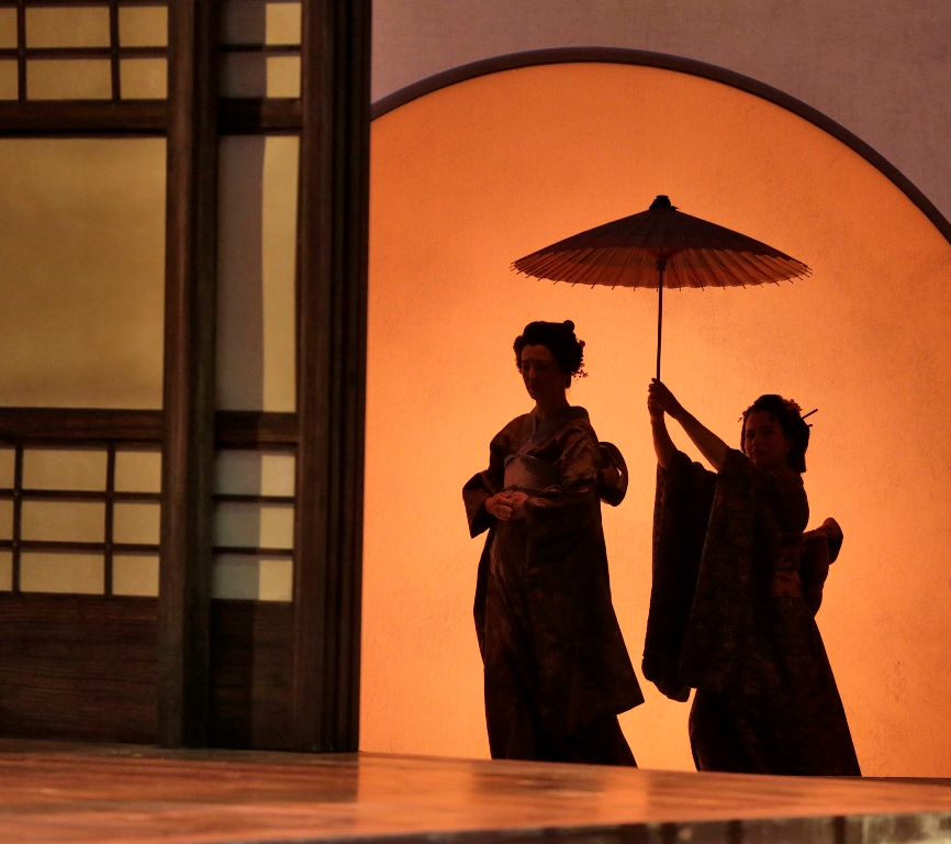 """Madama Butterfly"", Act I Cio-Cio-San's entrance"