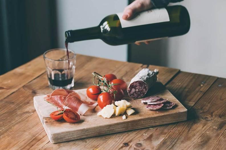 Wine and food tasting, Pesaro