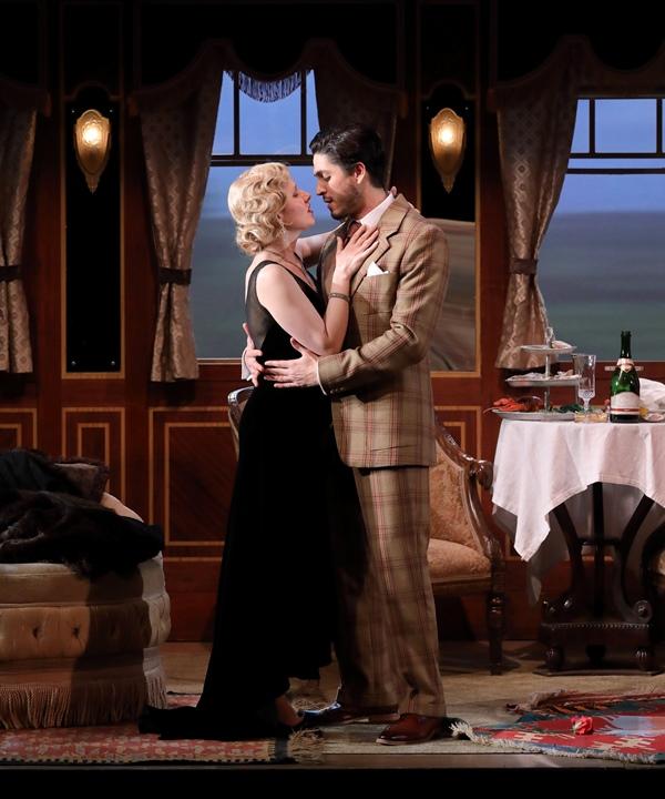 Soprano Sally Matthews as Konstanze, tenor Joel Prieto as Belmonte