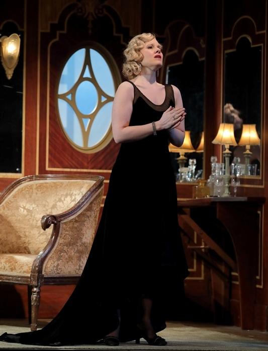 Soprano Sally Matthews as Konstanze