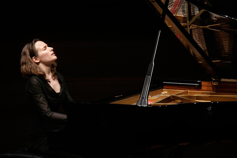 Pianist Hélène Grimaud lends a sensitive hand to Brahms