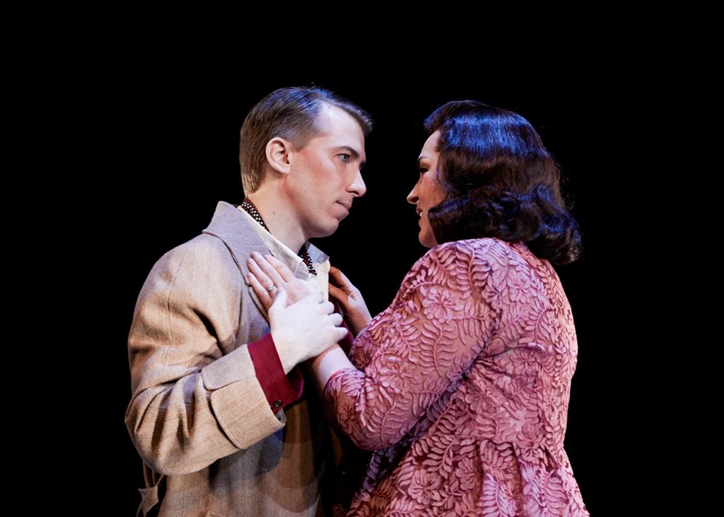 Joseph Dennis (Boris) and Melody Moore (Katya). Philip Newton photo