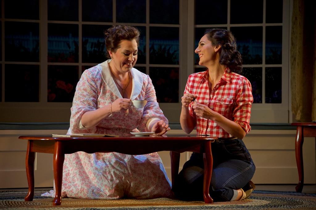 Melody Moore (Katya) and Maya Lahyani (Varvara). Jacob Lucas Photo