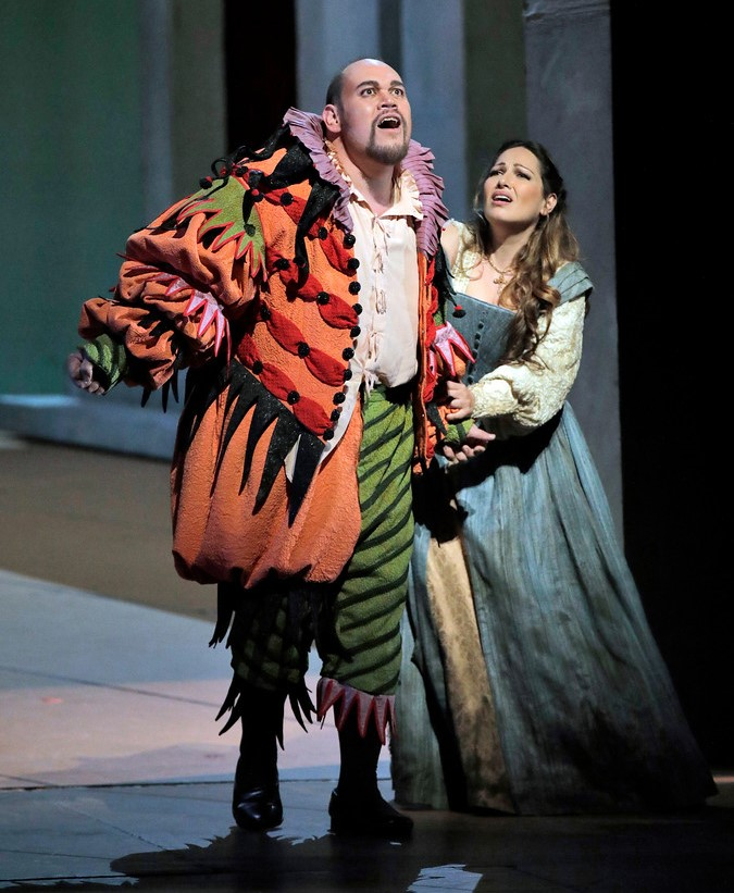 Kelsey as Rigoletto, Machaidze as Gilda