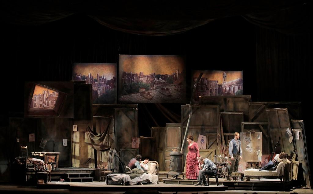 La bohème, Act IV