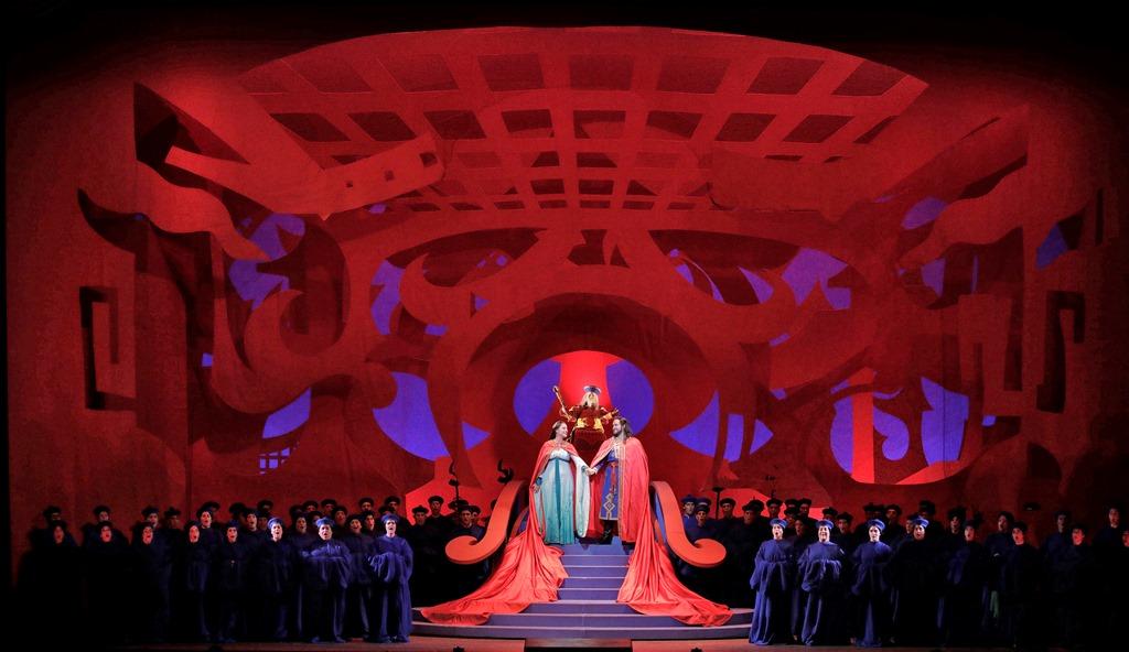 Turandot, Act 3 finale
