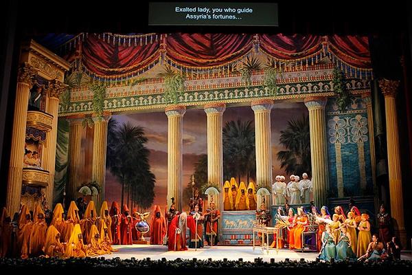 Nabucco, Act 3 (Photo credit: Washington National Opera)