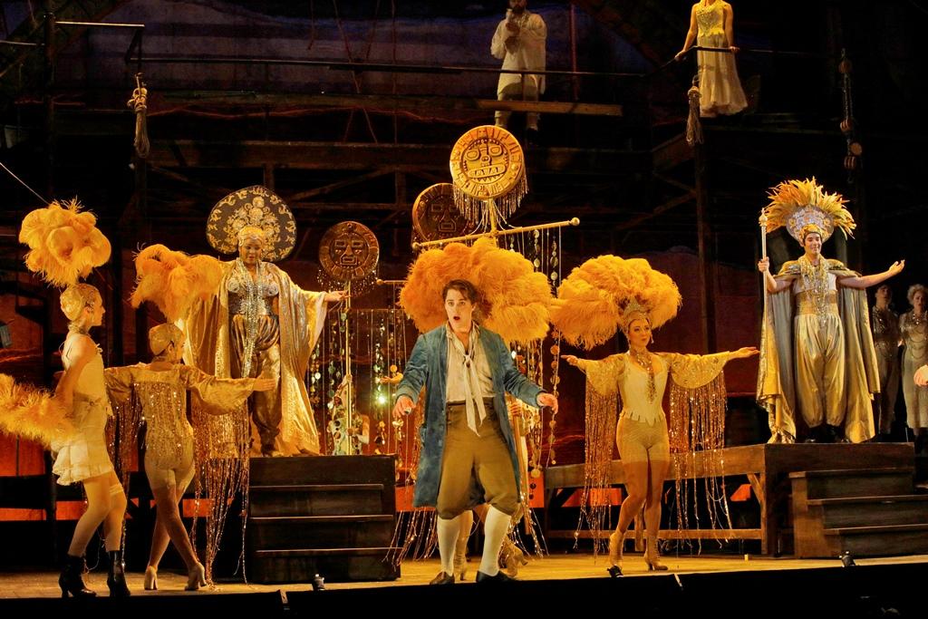 El Dorado Scene, Candide, Act II