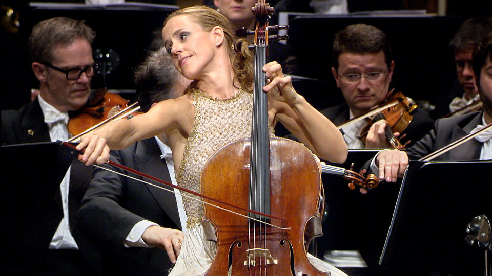 Cellist Sol Gabetta