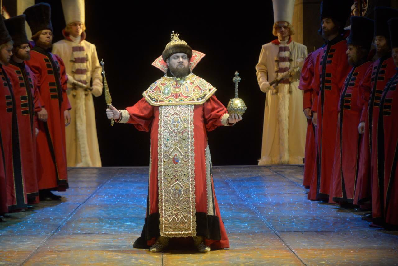 Stanislav Trofimov as Boris Godunov in Mariinsky Theatre's 2017 production.