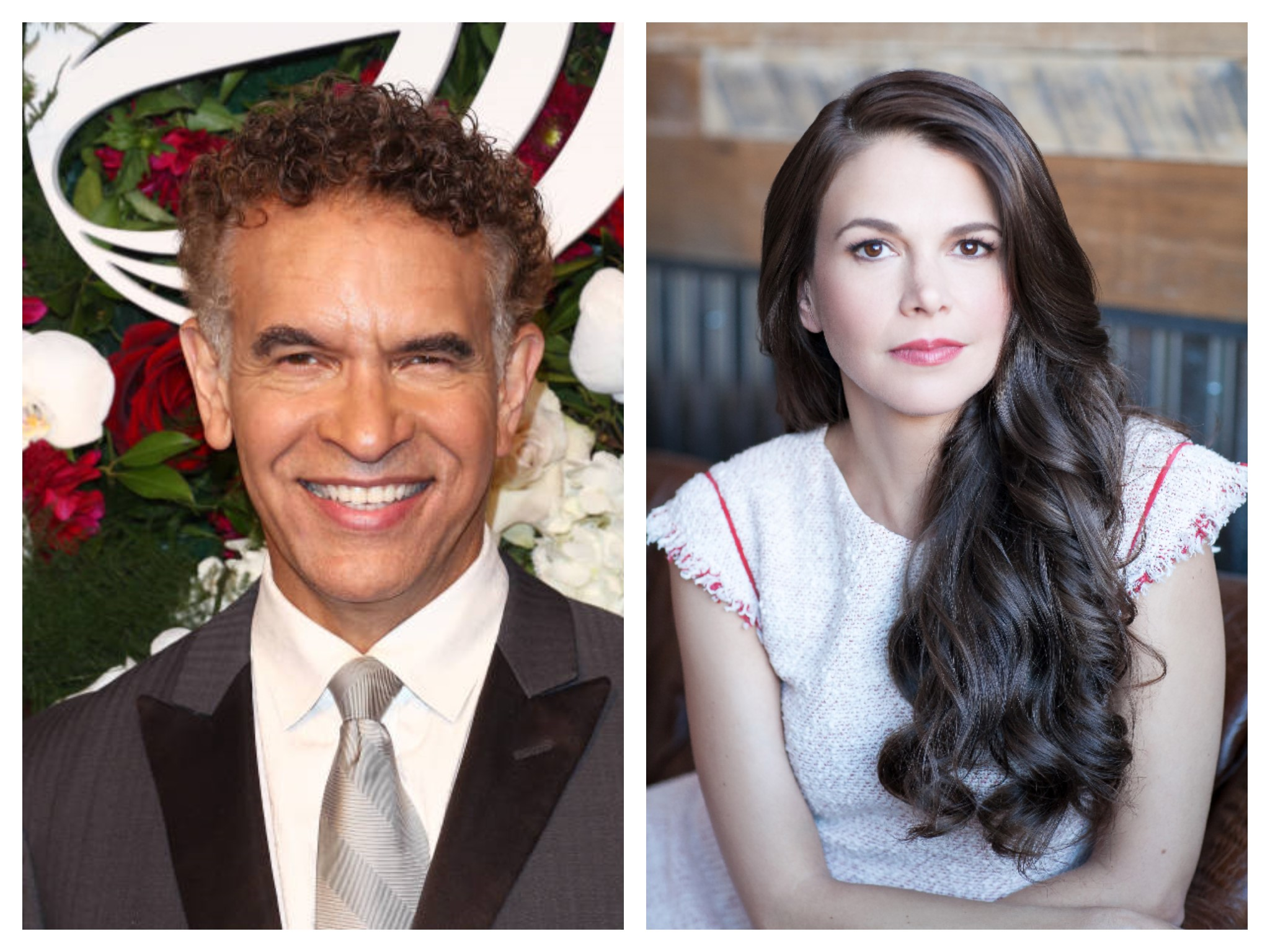 Brian Stokes Mitchell and Sutton Foster