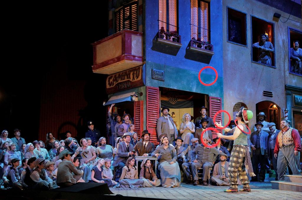 """San Francisco Opera's """"Pagliacci"""""""