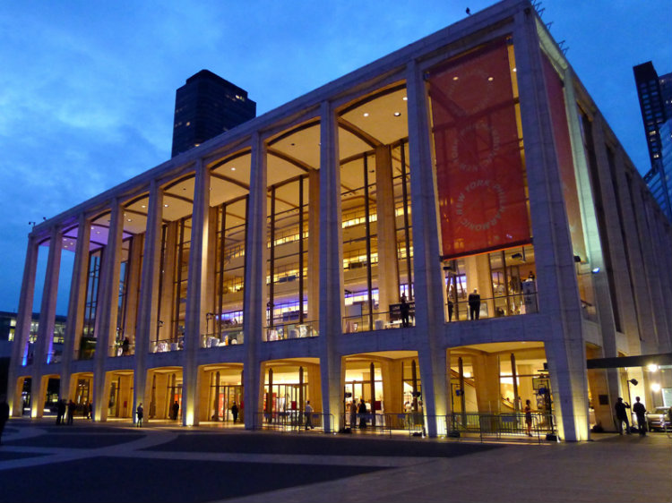 David Geffen Hall (formerly Avery Fisher) at the Lincoln Center