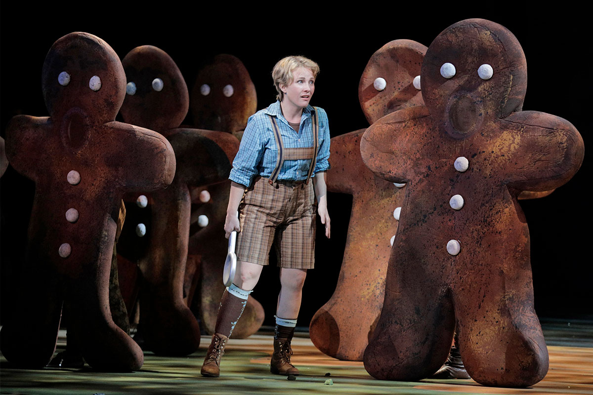 Sasha Cooke as Hansel. Photo by Cory Weaver