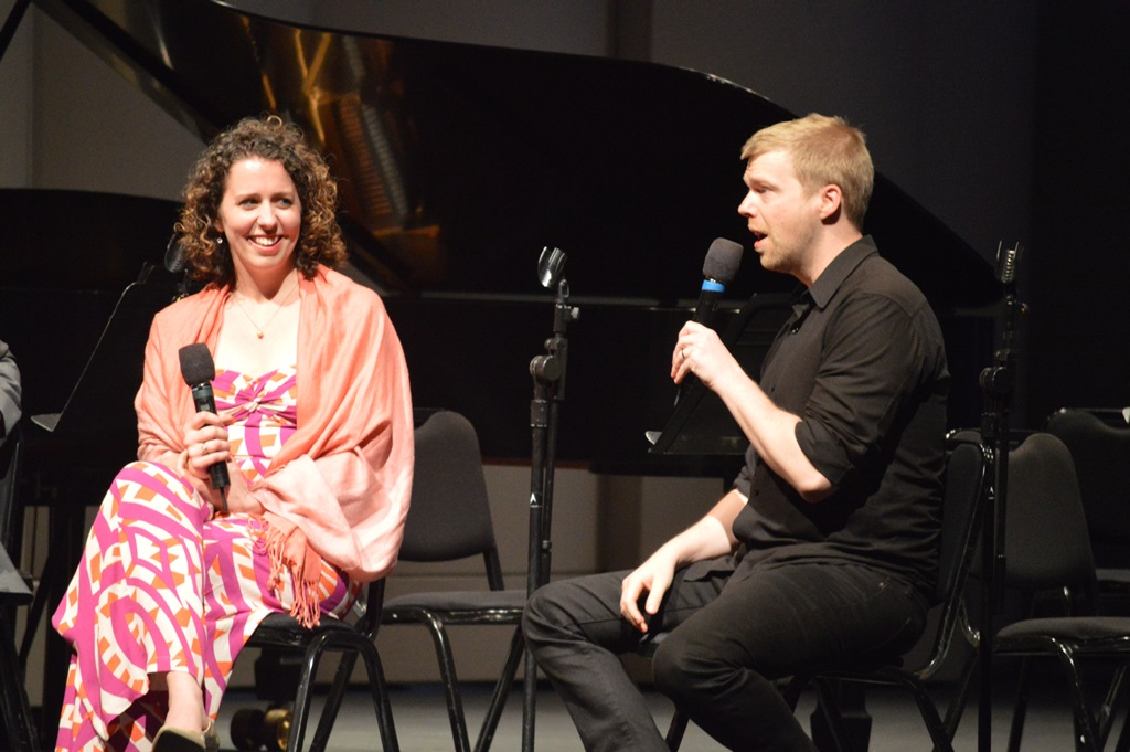 Pre-concert talk with composers Sarah Gibson and Andrew Norman