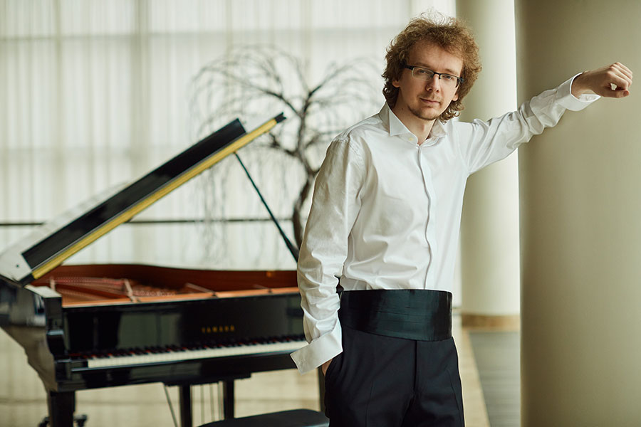 28-year-old pianist Sergei Redkin
