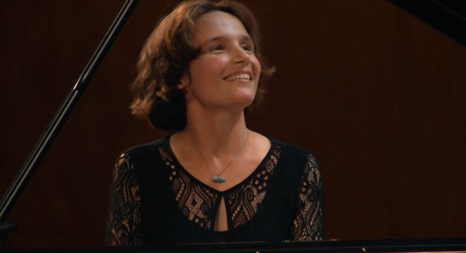 Pianist Hélène Grimaud. Photo credit: Gothenburg Symphony Orchestra (c) 2017