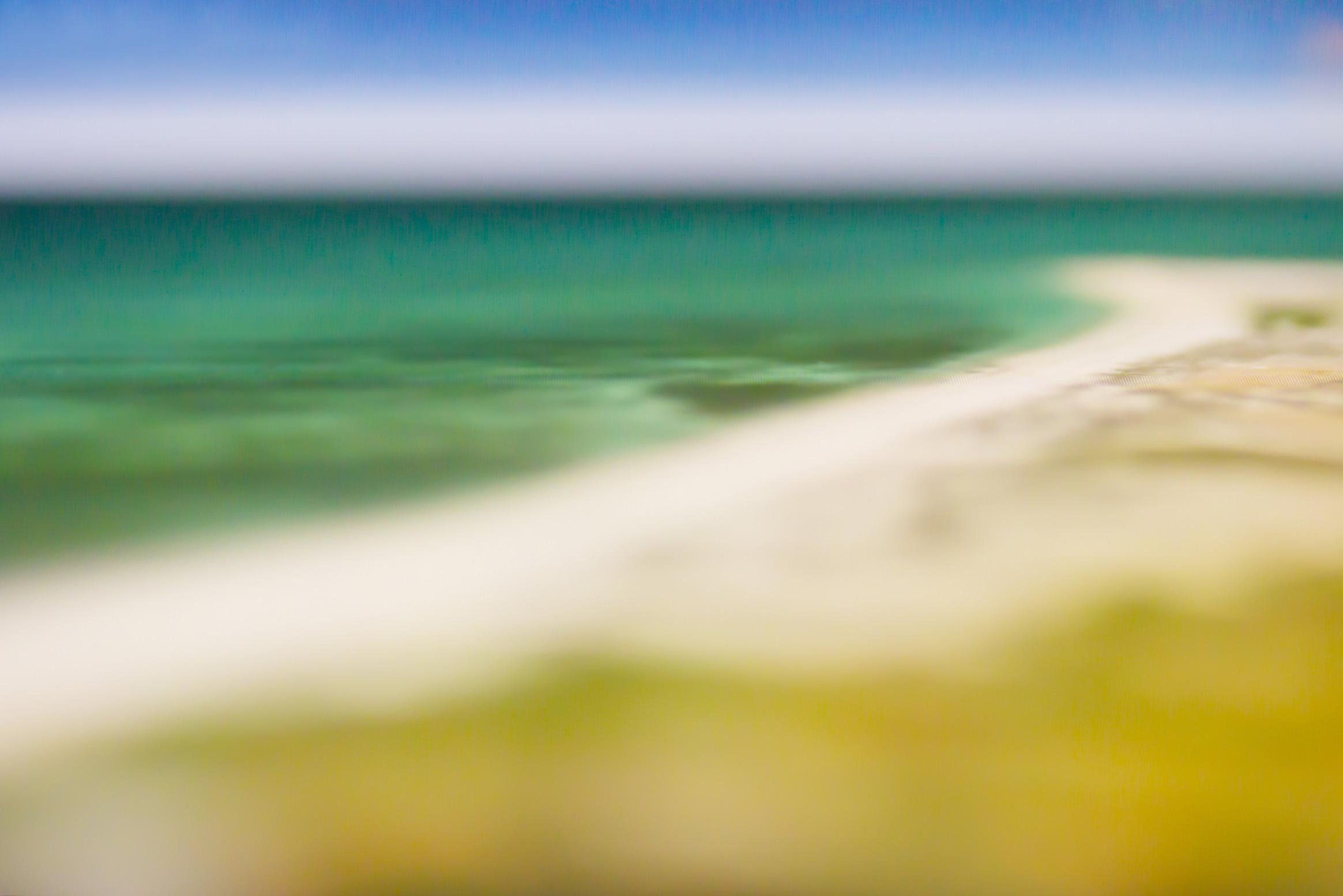 Ras Tanura Beach, Saudi Arabia. 26.45° N, 50.02° E by Mindy Stricke