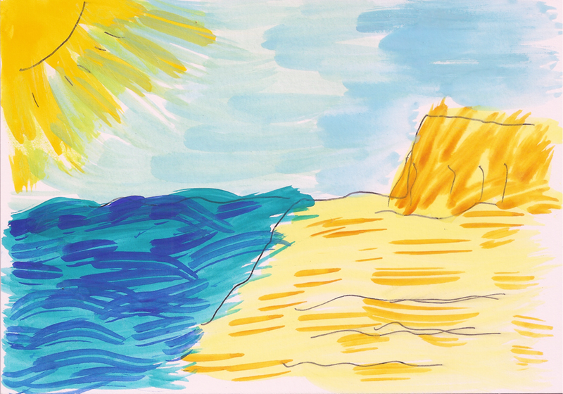 Ras Tanura Beach by Raymond Shih