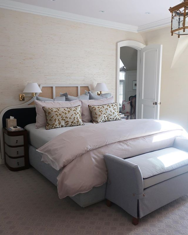 A beautiful bedroom scheme for one of our great clients #silvanadaddaziodesign #torontointeriordesign #interiordesign