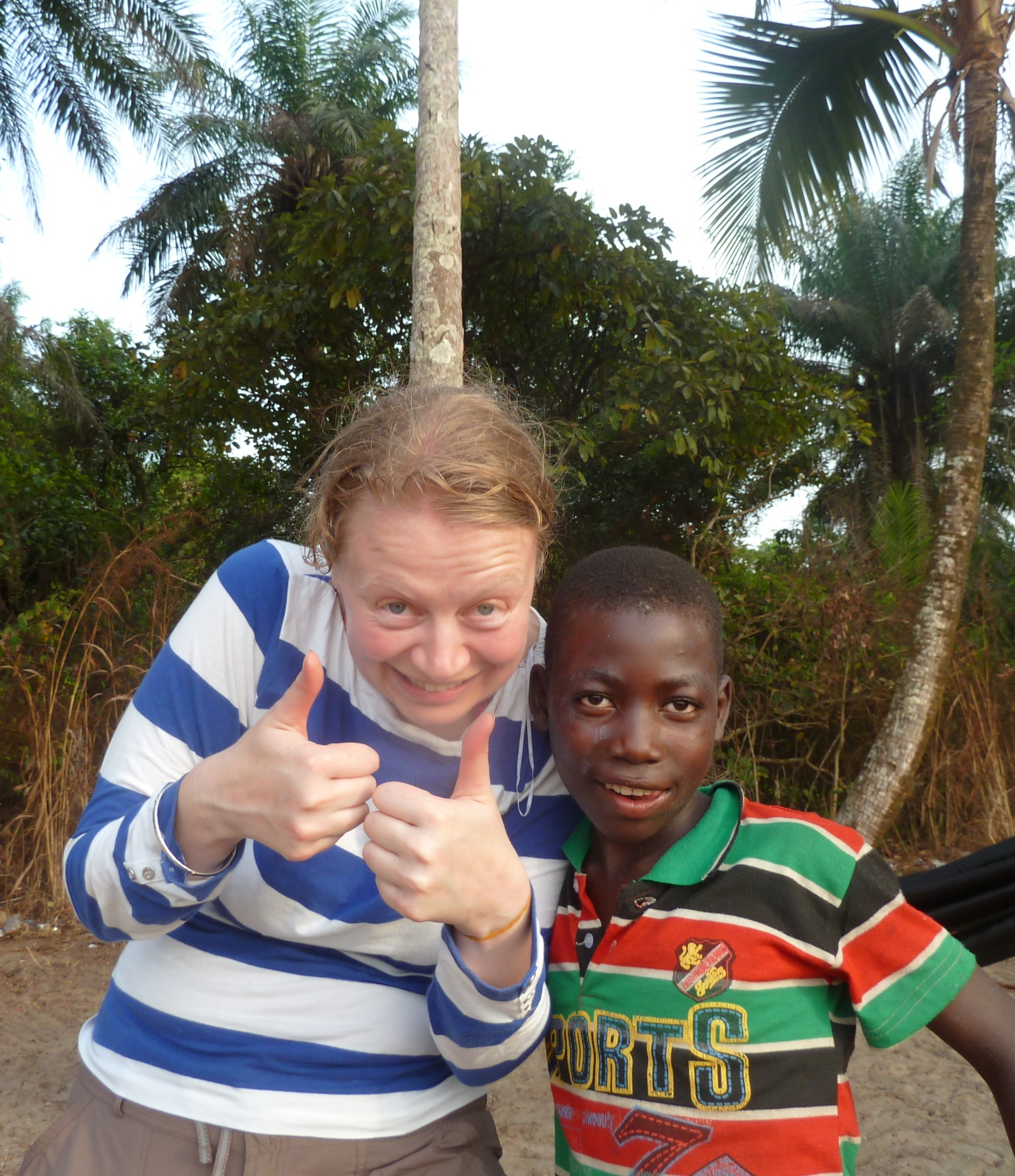 Claire in Sierra Leone