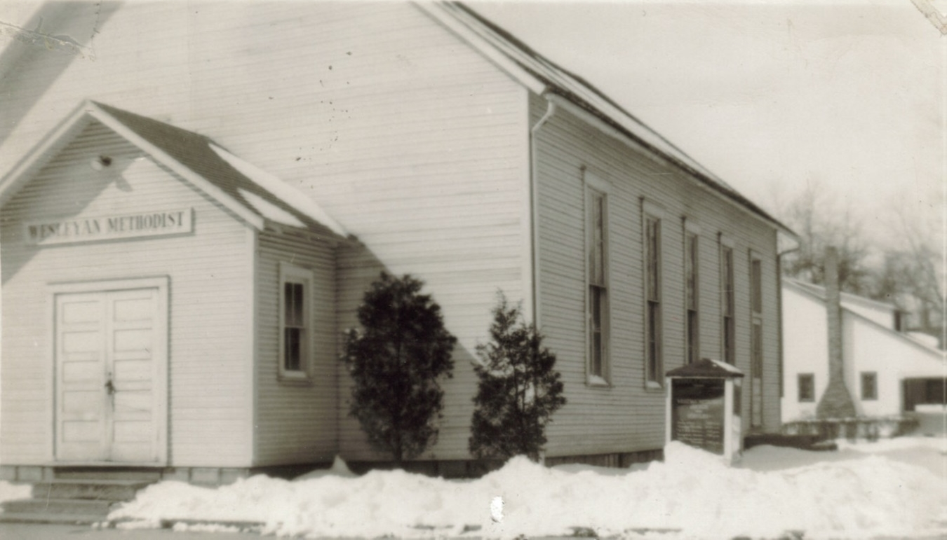 The Original building at the corner of N. Cherry and W. Franklin Streets
