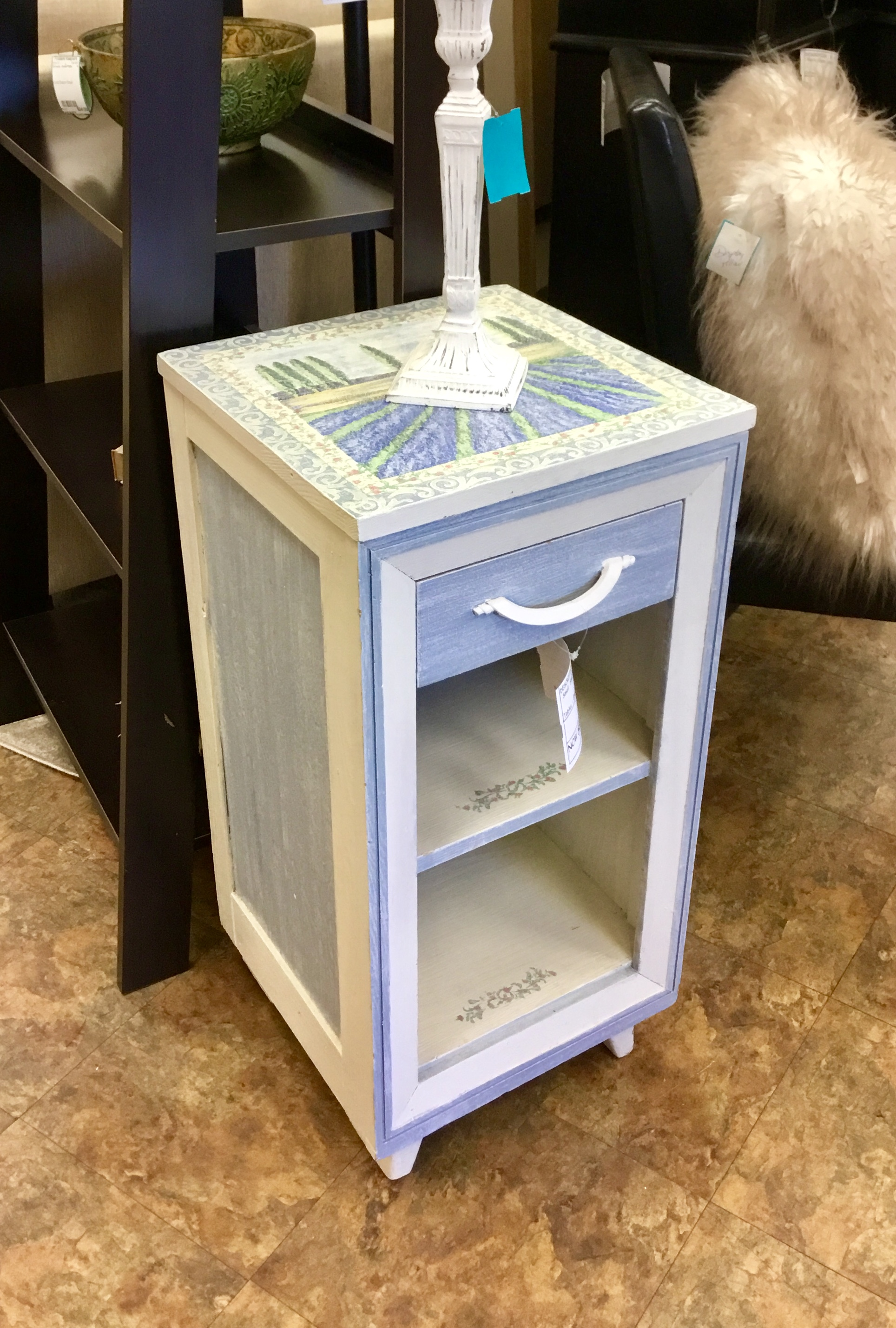 - Painted Accent Table — Finders Keepers