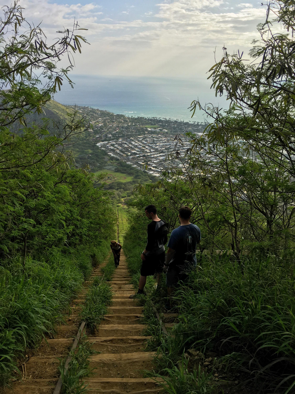 Climbing Koko Crater (aka leg day)