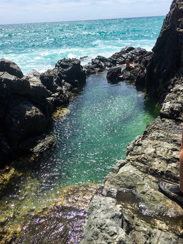 Queen's Bath on Moku Nui
