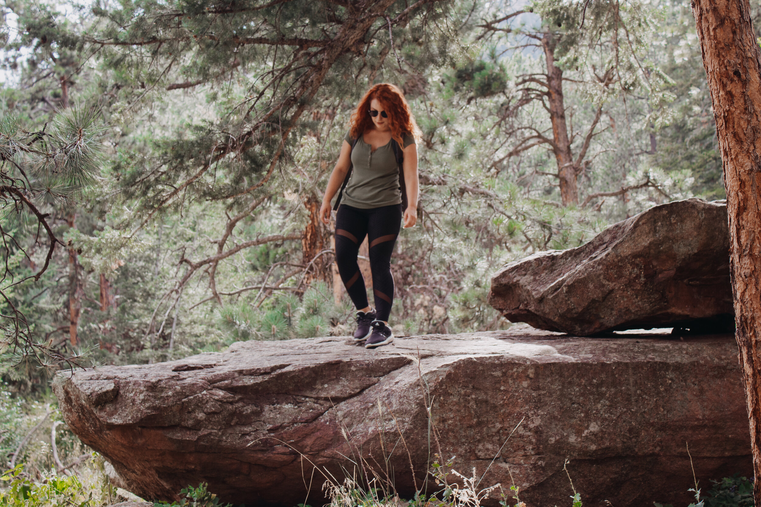 When millennials hike…
